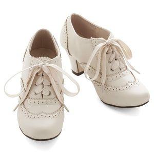 ModCloth Dance Instead if Walking Heel